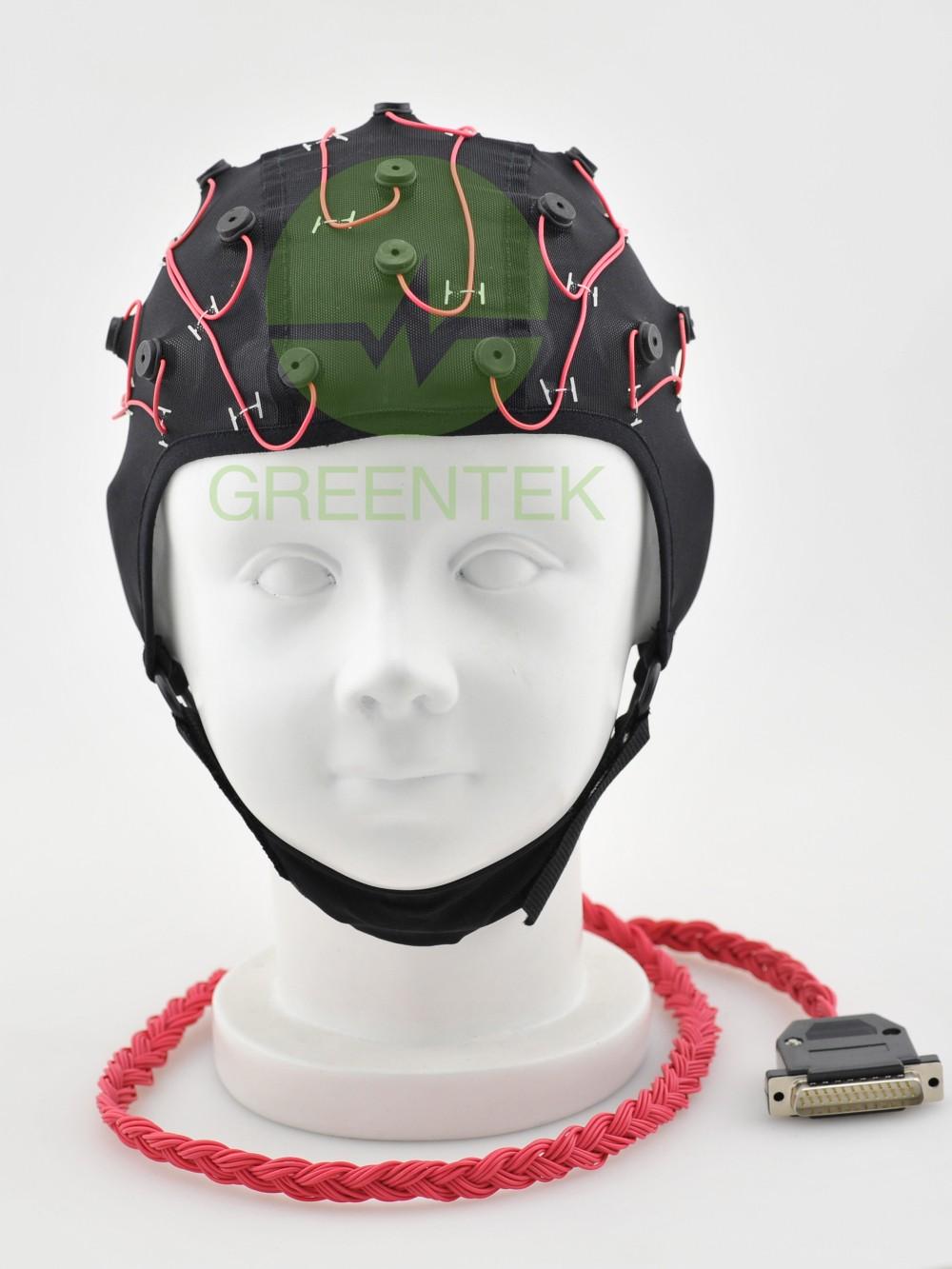 格林泰克医疗脑电图帽