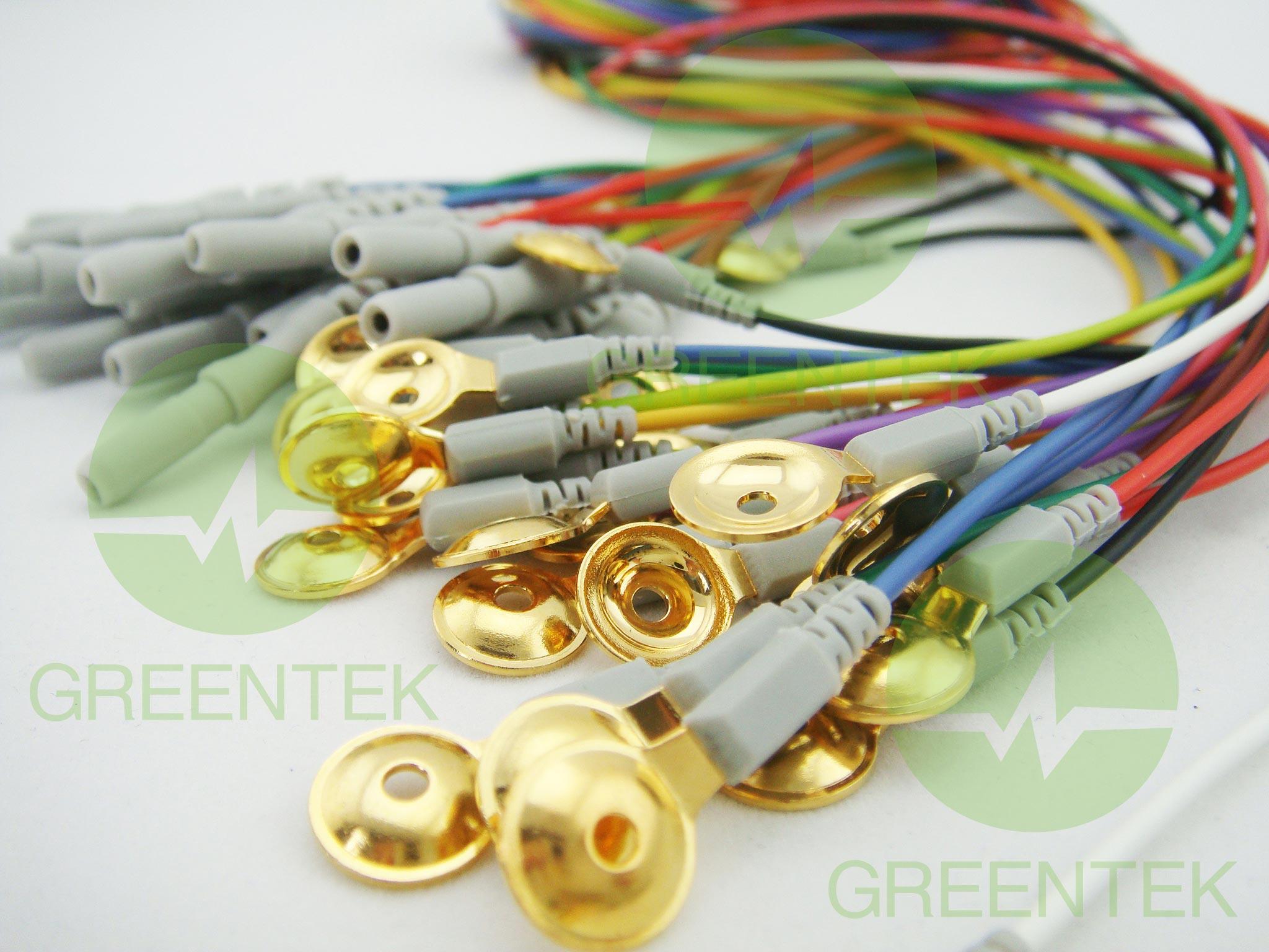 格林泰克金盘状电极